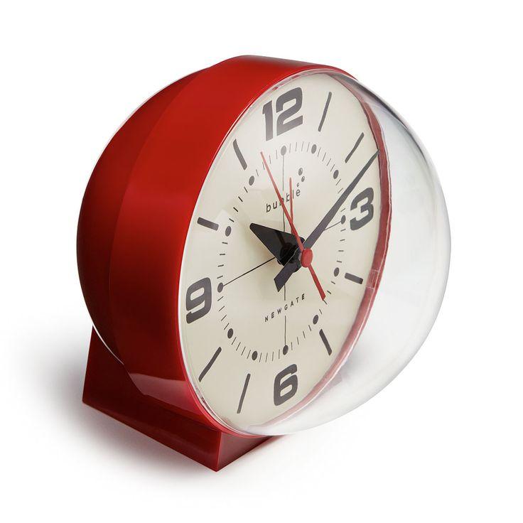 BUBBLE ALARM CLOCK | retro alarm clock, mod | UncommonGoods