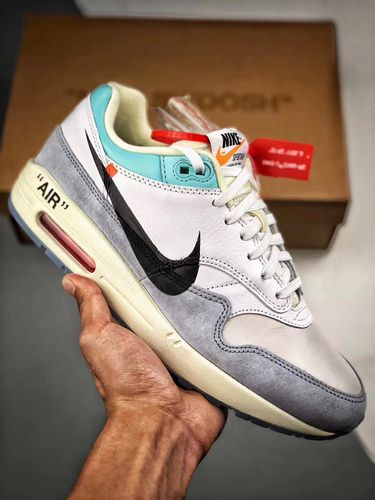 84ec3f5c431 2019的NIKE AIR MAX 1 X OFF-WHITE AA3827-100