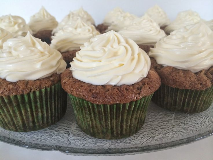 Bage-bloggen: Squash cupcakes med Cream Cheese frosting