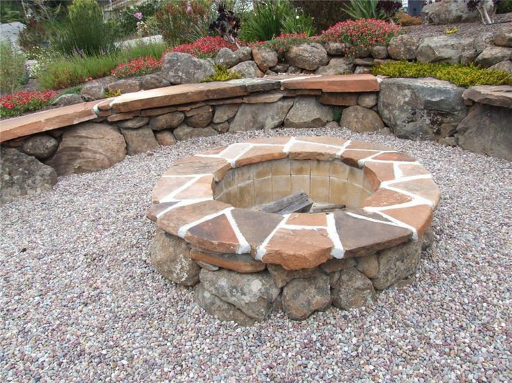 18 best images about fire pits on pinterest fire pits for Gravel around fire pit