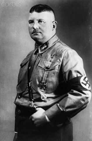 Ernst Julius Günther Röhm (28 November 1887– 2 July 1934) was a German officer in the Bavarian Army and later an early Nazi leader. He was a co-founder of the Sturmabteilung (Storm Battalion or SA), the Nazi Party militia, and later became its commander. In 1934, as part of the Night of the Long Knives, he was executed on Adolf Hitler's orders as a potential rival.