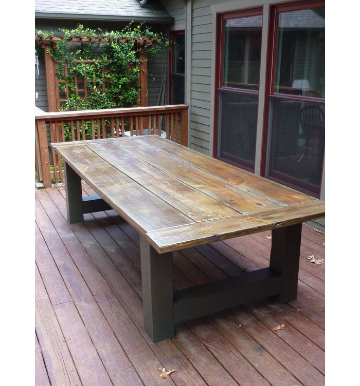 40++ Outdoor dining table and bench Trend