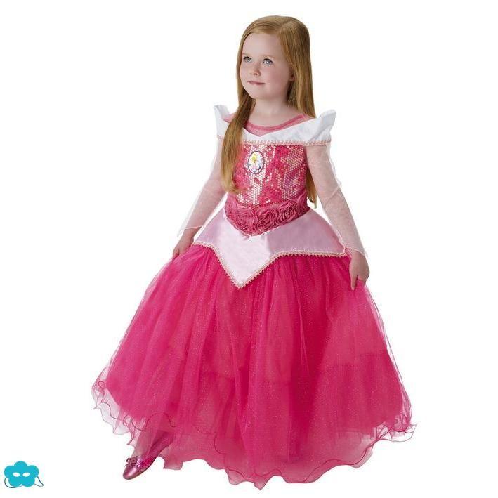 Disfraz de Aurora bella durmiente para niña