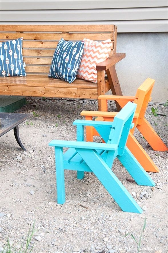 patio chairs for kids task chair with arms easy diy furniture pinterest and modern outdoor