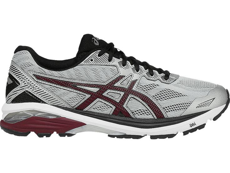 GT-1000 5 | Men | Glacier Gray/Pomegranate/Black | ASICS US