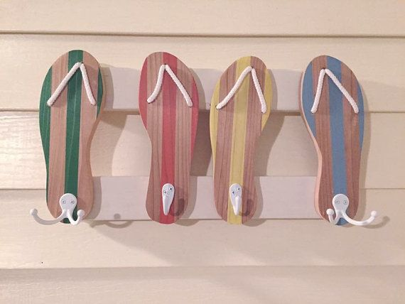Hey, I found this really awesome Etsy listing at https://www.etsy.com/listing/248525564/flipflops-towel-rack-beach-towel-rack