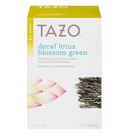 Tazo Green Tea, Decaf Lotus Blossom - 0.08 oz.