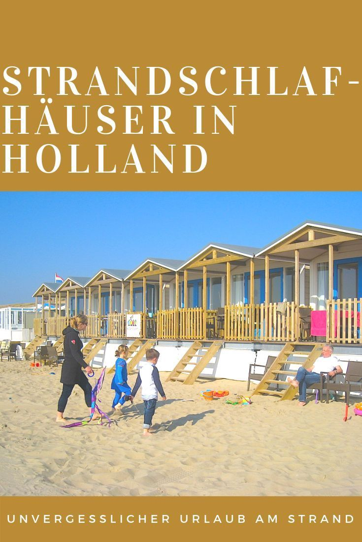 Awakened by the surf – beach sleeping houses in Holland