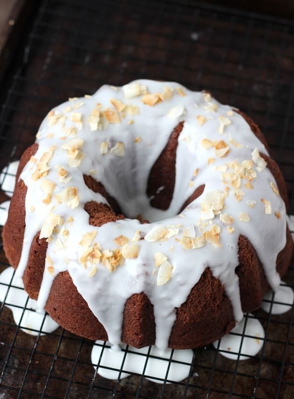 A tender chocolate pound cake recipe is enriched with subtle coconut flavors in this chocolate coconut pound cake. It's an easy, delicious and beautiful dessert perfect for your next get-together.