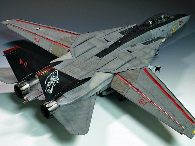 32 Trumpeter F-14D Grim Reapers by Lee, Seok Joo | Scale Models ...