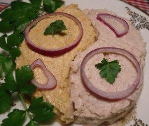 Форшмак и бутербродная масса из селедки