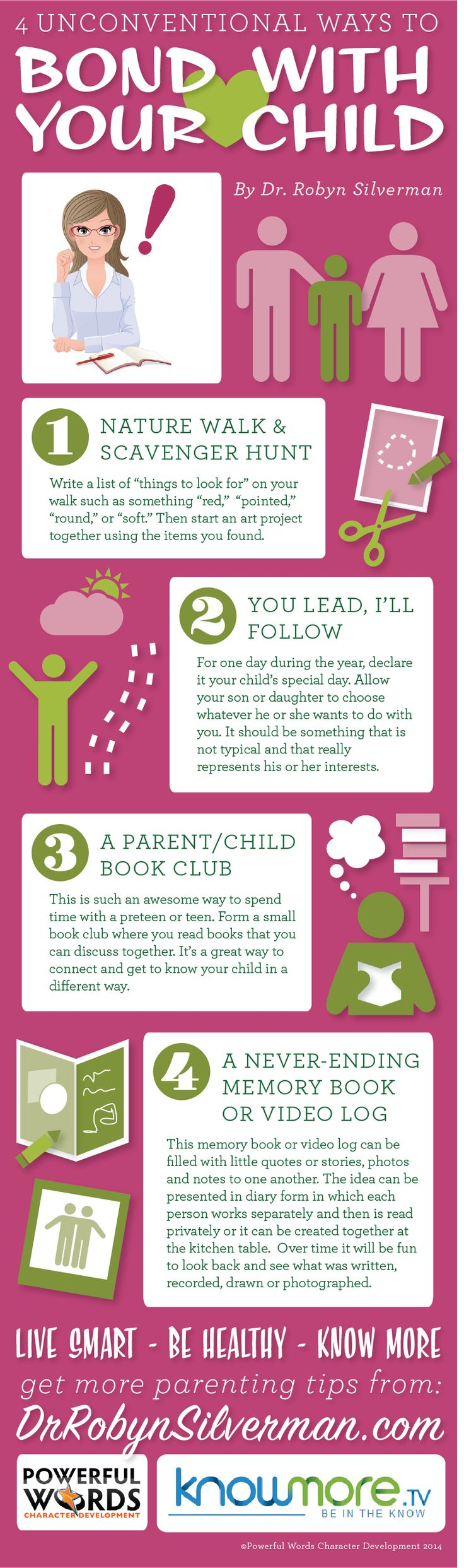 4 Unconventional Ways to Bond With Your Child #bonding #parenting #drrobyn