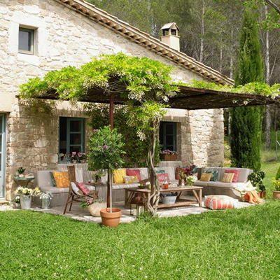 Волшебная крытая терраса в испанском стиле - пять золотых правил