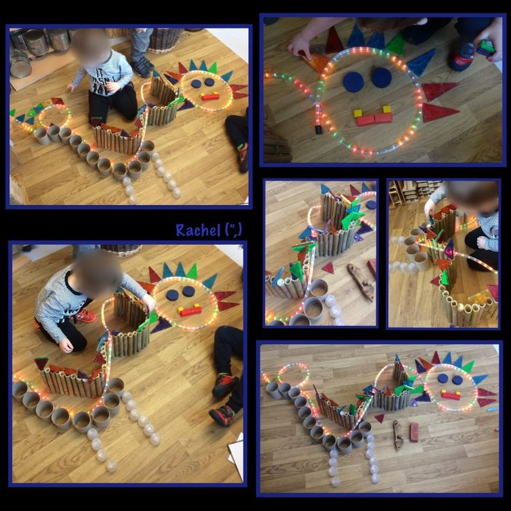 """Creating Chinese dragons in the construction area - from Rachel ("""",)"""