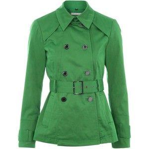 like: Short Trench Coat, Shorts Trench Coats, Style, Color, Green Coats, Shorts Green, Green Trench, Green Shorts, Cute Jackets