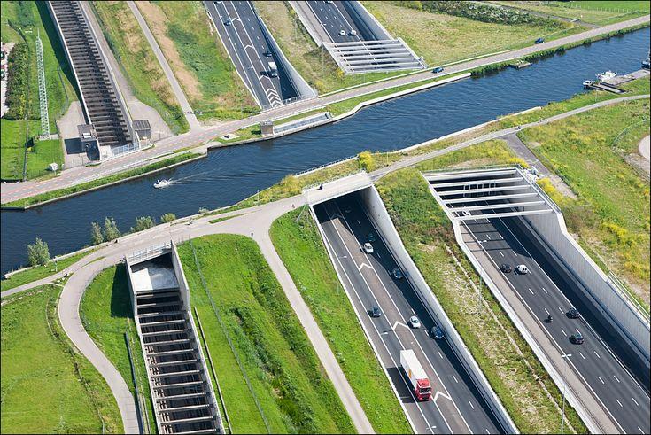 Roelofarendsveen - Ringvaart aquaduct Haarlemmermeer