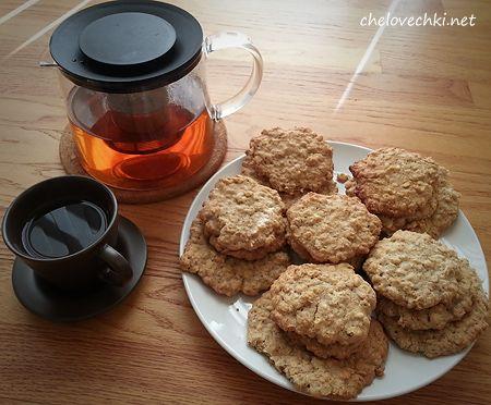 Простой рецепт овсяного печенья