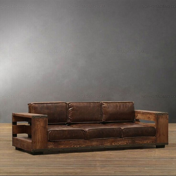 Awesome Industrial Sofa Inspirational Industrial Sofa 41 In Sofas And Couches Ideas With Industrial Sofa Meuble En Bois Rustique Canape En Bois Canape De Bois