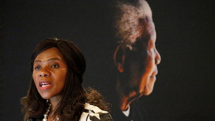 Public Protector Thuli Madonsela speaks at the Nelson Mandela Foundation in Houghton, Johannesburg, South Africa May 10,2016. Picture taken May 10, 2016. REUTERS/Siphiwe Sibeko/File Photo - RTX2K4CU