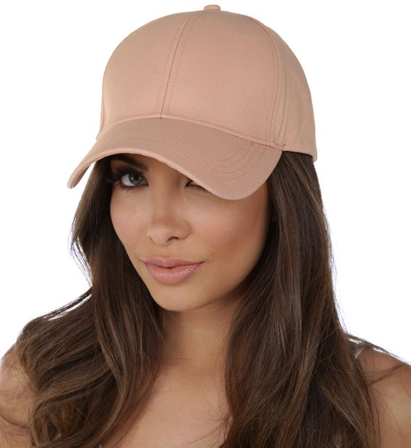 Peach Designer Baseball Cap