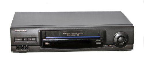 #Panasonic Video Cassette Recorder Model N. PV-V4600