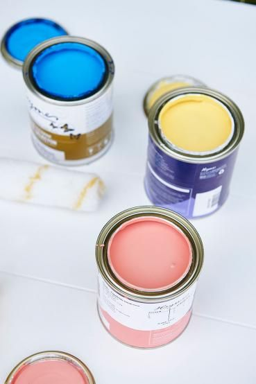 Paint the furniture! Pick  your colour! Lenzo decided Coral Serenade, Hypnotic and Sunbeam