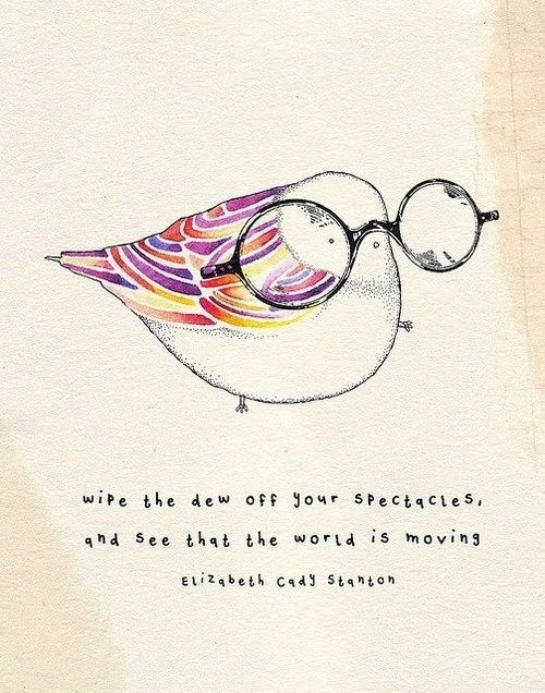 Piccsy :: bird saidInspiration, Quotes, Little Birds, Cady Stanton, Spectacles, Illustration, Art, The World, Birds With Glasses Tattoo