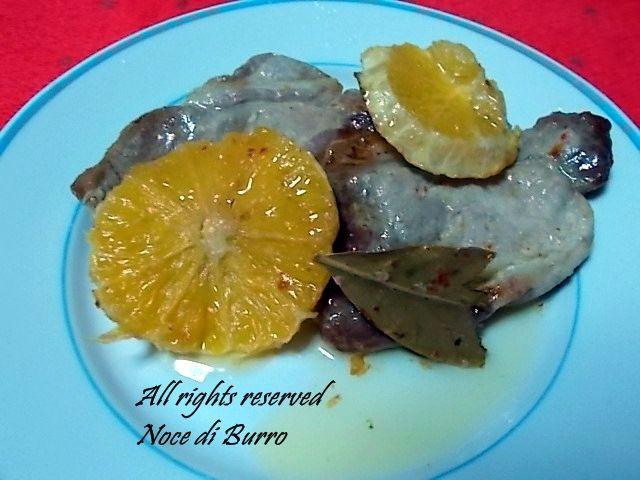 Lonza di maiale all'arancia, ricetta veloce