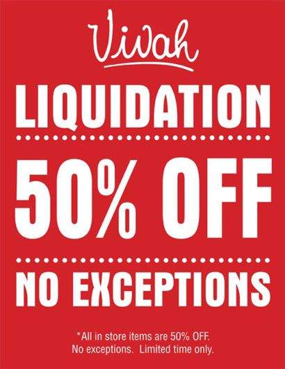 EVERYTHING IN THE STORE IS 50% OFF!!! This includes Items ending in $.99, Clearance Items, Care Products and the Donna Luna Collection!!!  The only catch...IT WON'T LAST FOREVER!
