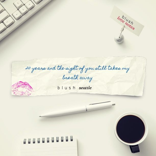Here's a Blush Love Note http://bit.ly/1t751l1 #BLUSHNOTES