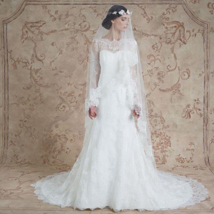 Miriam #weddingdress from Sareh Nouri fall 2016 wedding dresses | itakeyou.co.uk:
