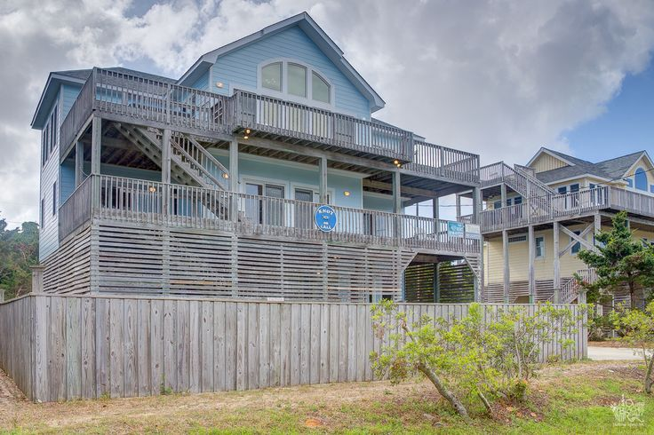 Knot On Call 459 6 Bedroom Semi Oceanfront House Obrrentals Outerbeaches Outer Banks