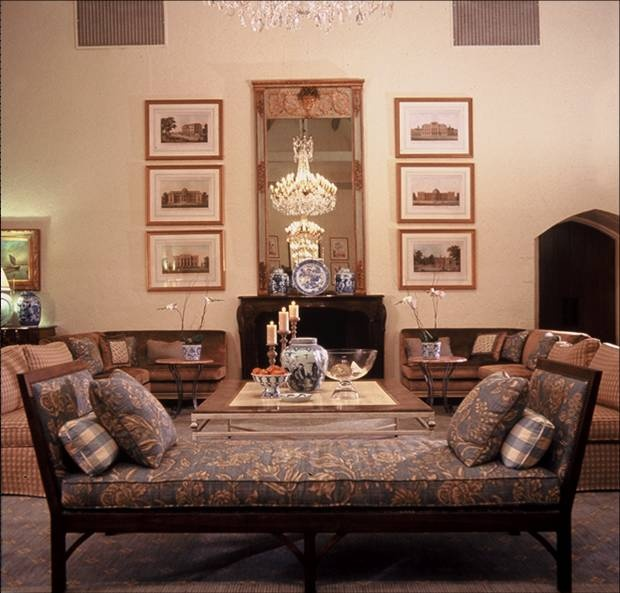 Charles Faudree Designed Part Of The Interiors For Southern Hill Country  Club In Tulsa, OK