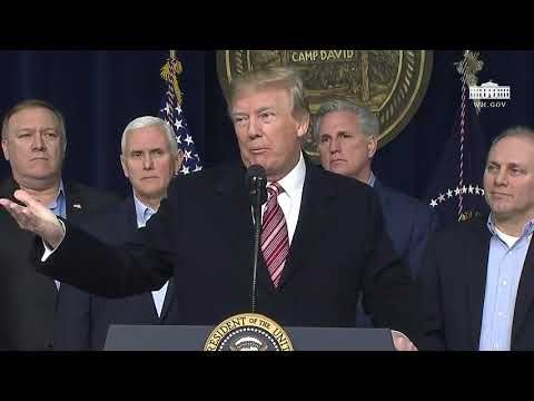 Defense Flash News :  President Trump URGENT Speech Today 1/6/2018 & Delivers Remarks at Camp David
