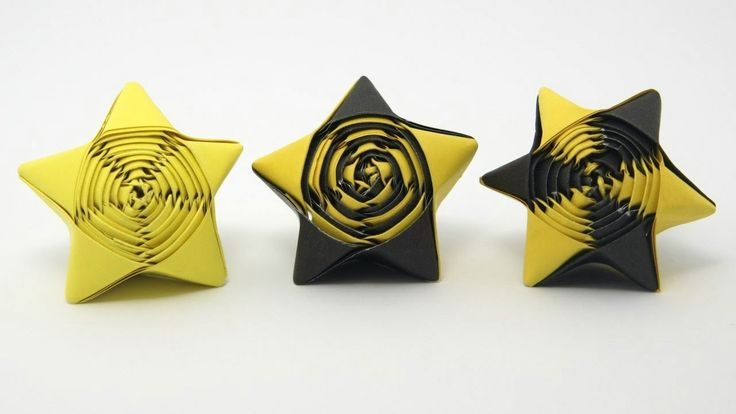 Straw Stars. These origami stars are so beautiful and they are not that hard to make