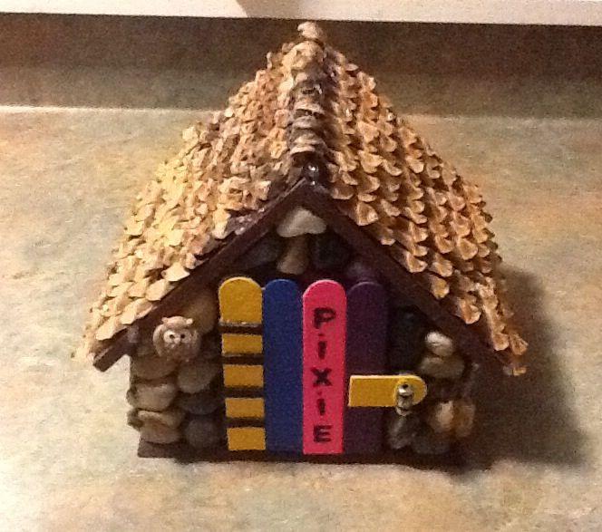 1000 Ideas About Popsicle Stick Birdhouse On Pinterest