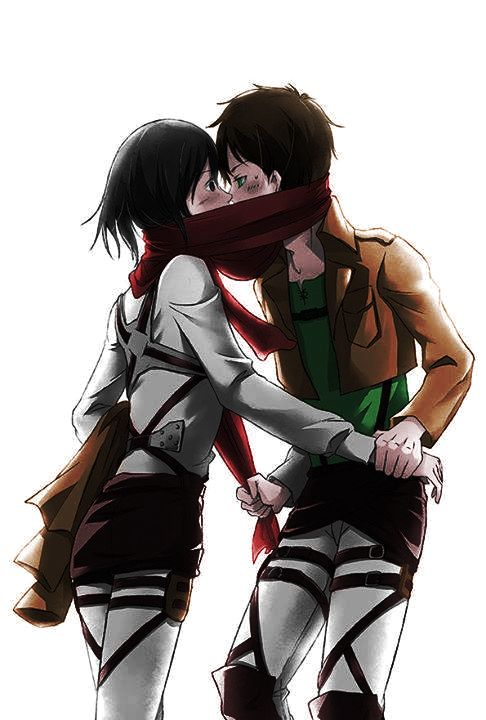 #Coloredbyme #ToukoWhiteGraphic #animecouple #Eren #Mikasa #MikaEren  Ita: Se la prendi, mettere i crediti.. grazie. Eng: If you take it, put the credits.. thanks.