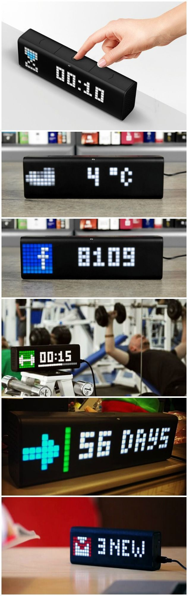 LaMetric Time is the Online Ticker Display for Work and
