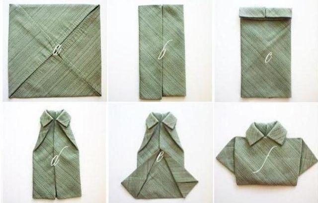 Servietten falten für besondere und festliche Anlässe- 47 Ideen