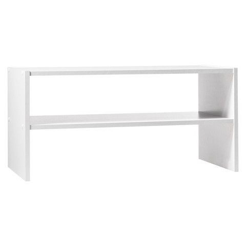 "24"" Stackable Shelf - White - Room Essentials™"