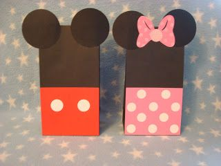 Creative Trendz Design: Minnie Mouse Party DIY (loot bags)
