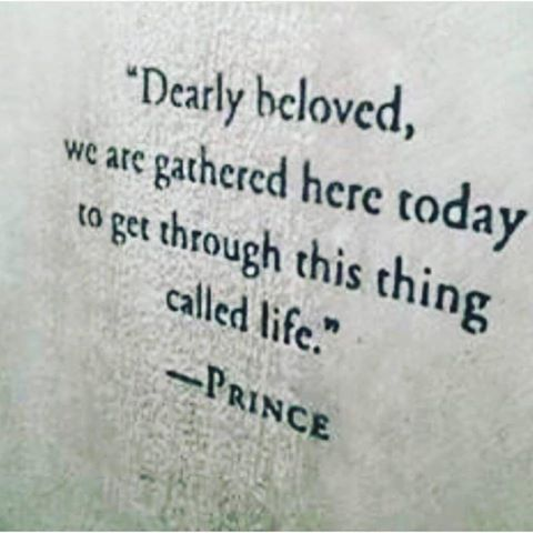 Rest in Peace Prince.
