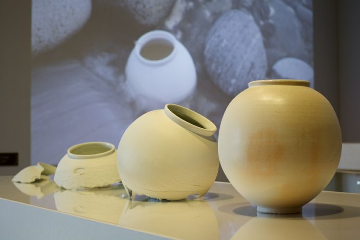 'Erosion Series' by Adam Buick in 'Real to Reel: film as a material in making' - a Crafts Council Touring Exhibition @ The National Centre for Craft & Design - image by Sophie Mutevelian