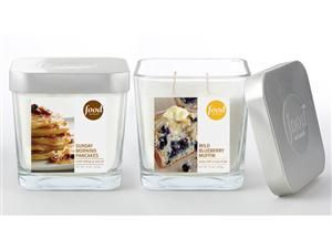 Food Network Wild Blueberry Muffin Candle