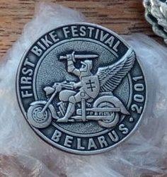 First bike festival in Belarus 2001