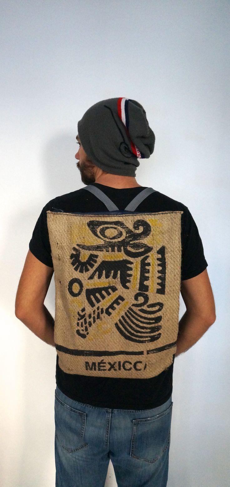 "Zaino cycling backpack ECO Modello: ""Mexico"""