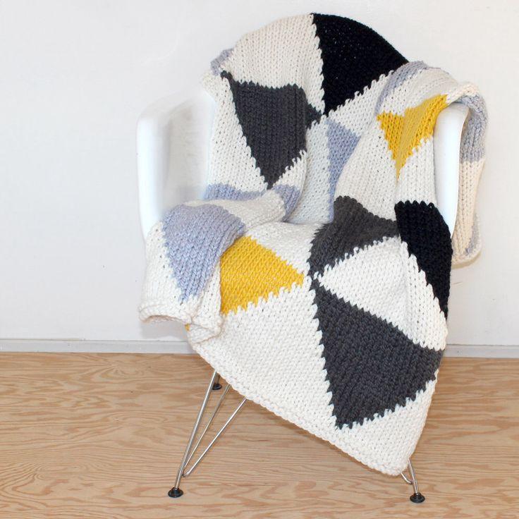 plaid tricot décoration intérieure