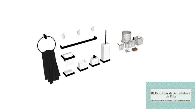 COMBO DECOR BANHEIRO #03 - 3D Warehouse