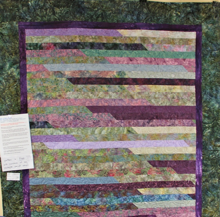 Quilt Pattern Jelly Roll Race : Jelly roll race quilt Quilts Pinterest