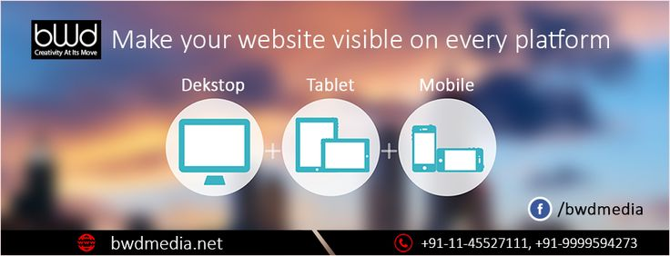 #bwdmedia make your website visible on every platform. Get more details - https://bwdmedia.net/services/web-development/